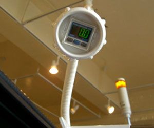 H2Oカプセル 圧力計